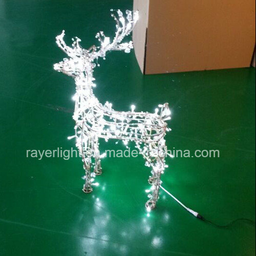 China Led Christmas Light Outdoor White Lighted White