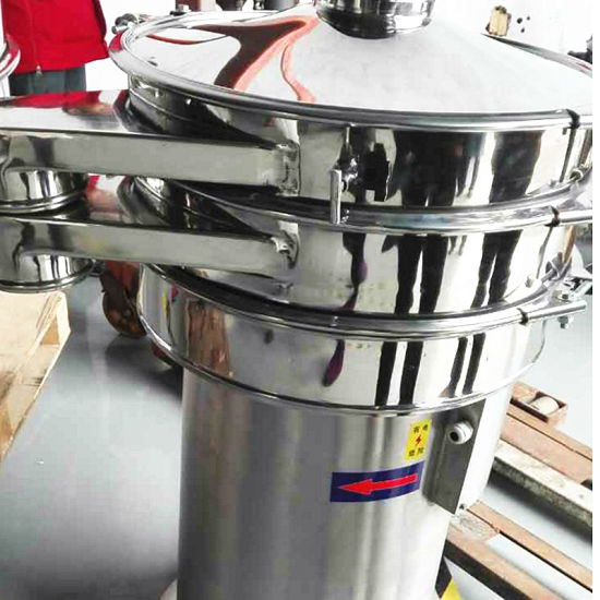 2018hot Sale Stainless Steel Rotary Circule Vibrating Screen Used for Powder pictures & photos
