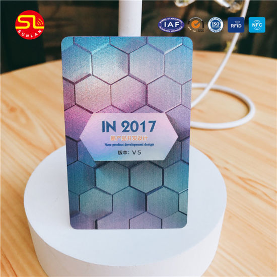 Factory Price Smart Card/PVC Card/RFID Card with ISO14443A pictures & photos