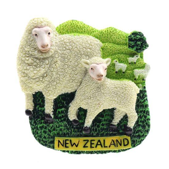 Souvenir 3D Handmade Resin Fridge Magnet New Zealand Tourist Gift