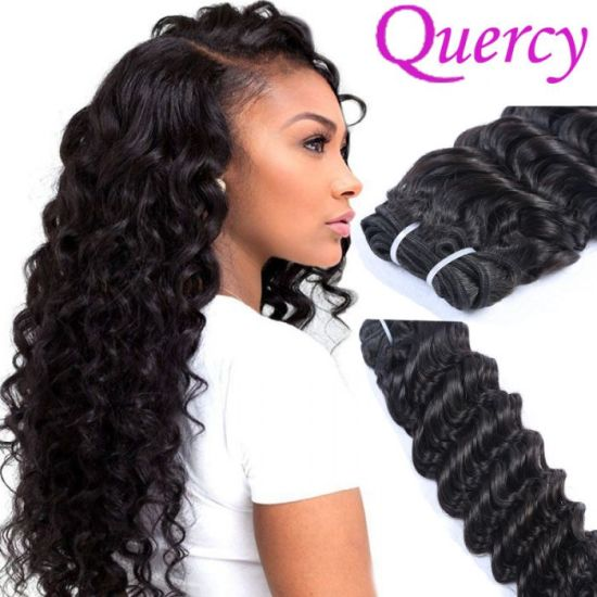 Soft And Beauty 16 18 20 Inches Virgin Deep Wave Brazilian Braiding Hair 100 Natural Human