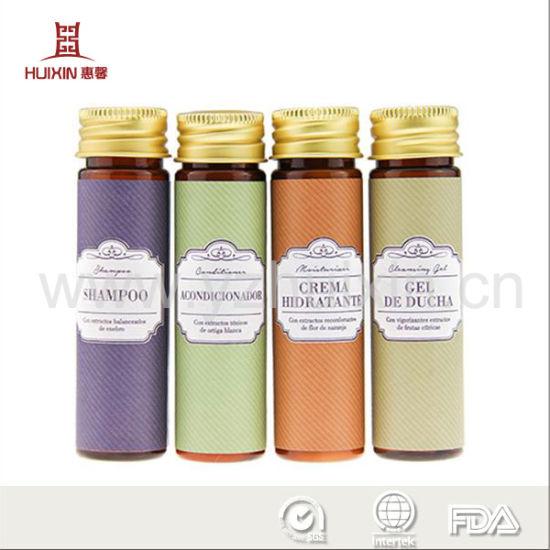 China Hotel Cosmetics Bottle Shampoo