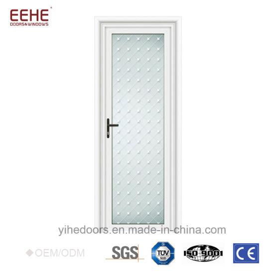 China Interior Glass Doors Thai Aluminum Frame Door Casement Door