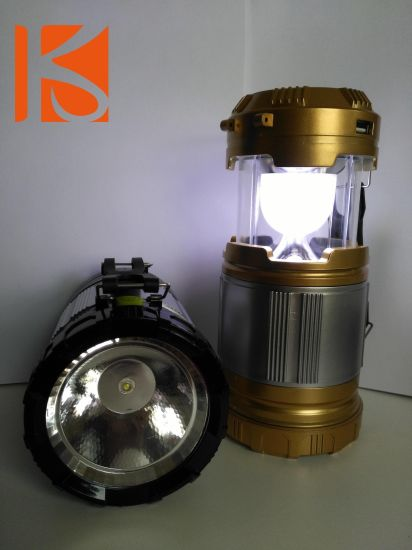 Hot Sale LED Solar Camping Lamp/ Lighting/ Lantern pictures & photos