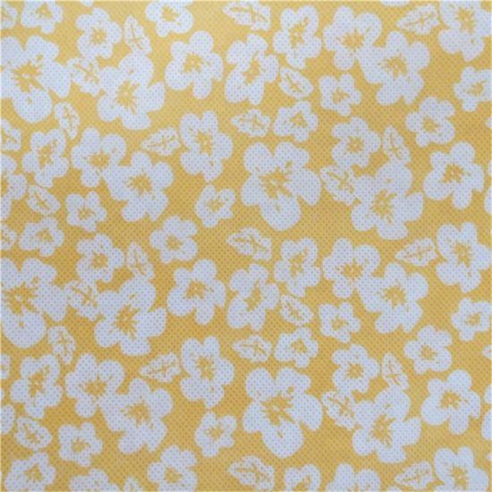 Polypropylene Elastic Non Woven Fabric Printed Nonwoven Fabric