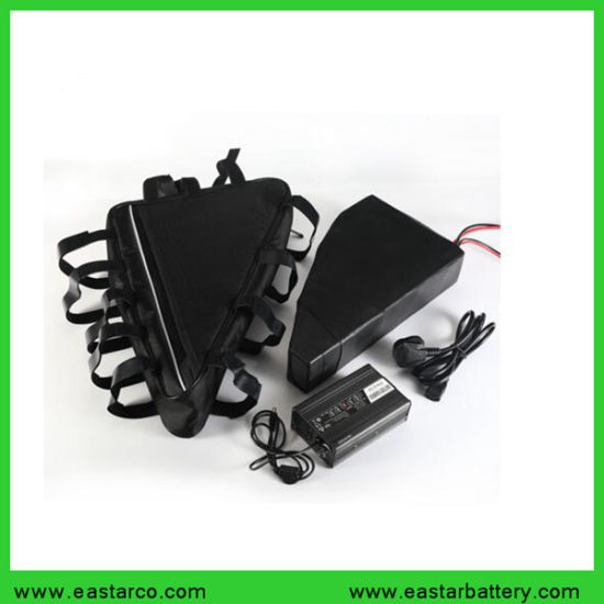 Rechargeable 48V / 52V 20ah E-Bike Battery Pack Triangle Shape Lithium Ion Ebike Battery pictures & photos