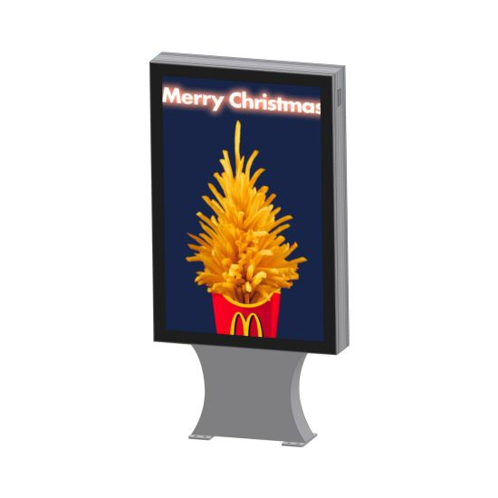 Aluminum Alloy Material Shopping Mall Advertising Scrolling Light Box