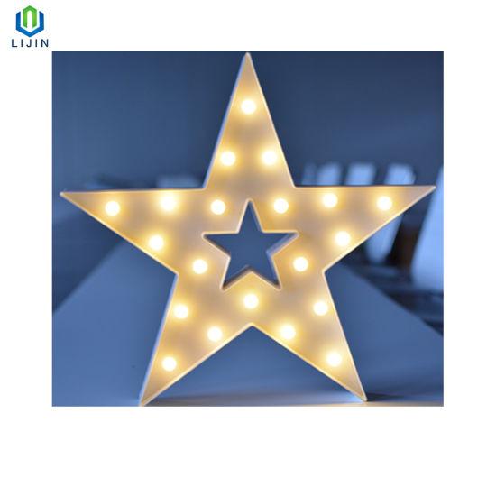 Big Star Motif Night Lamp LED Night Light