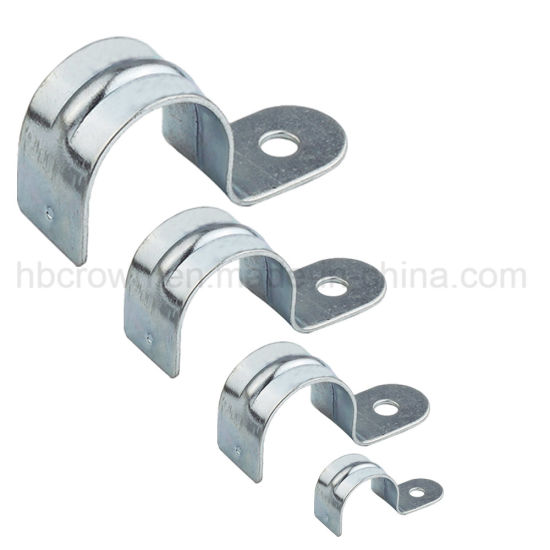 [Hot Item] Stainless Steel Electrical Conduit Saddle Clamp Clip