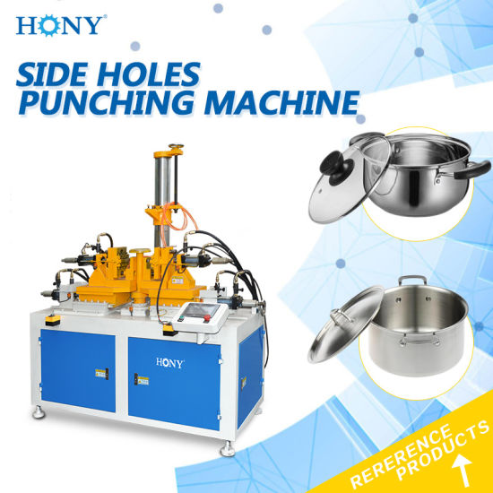 Side Holes Punching Machine for Metal Pot 2690 pictures & photos