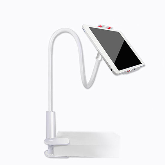 4-10.6 Inch Phone & Tablet Holder 360 Degree Rotation Alumium Alloy Lazy Tablet Stand Holder