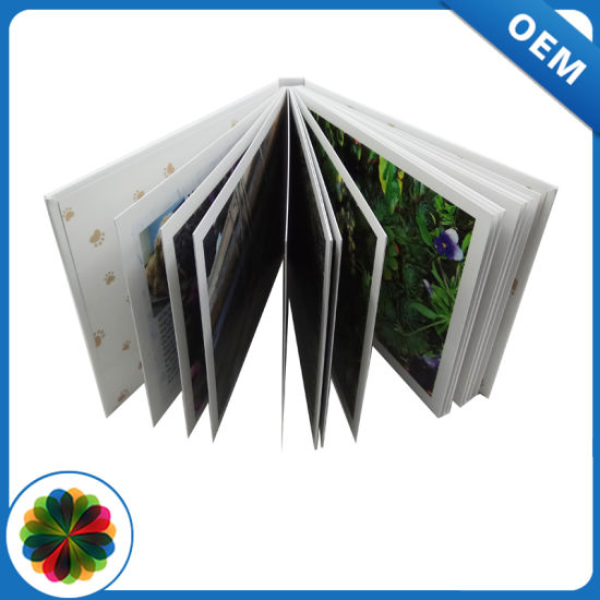 Thick Paper Full Color Photo Hardcover Book Printed in China - China ...