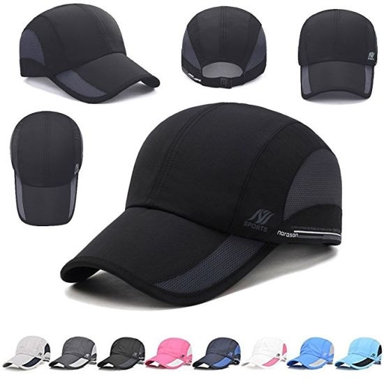 Quick Dry Waterproof Breathable Mesh UV Protection Golf Mesh Cap pictures    photos 3aa09f13d49f