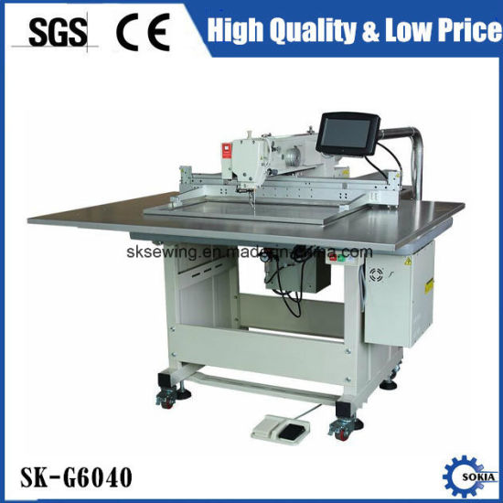 China Industrial Automatic Template Pattern Sewing Machine For Custom Automatic Cutting And Sewing Machine Price
