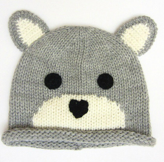 Funny Knit Winter Hats Kids Animal Winter Hat Children Beanie pictures & photos