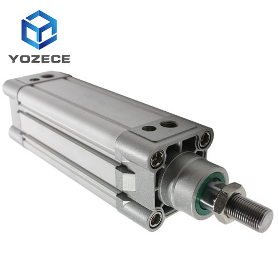 ISO Long Stroke Festo Double Acting Compressed Pneumatic Air Cylinder for Face Mask Machine