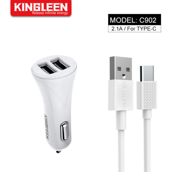USB Type C Car Charger 4.2A USB Car Charger Adapter for Google Galaxy Huawei pictures & photos