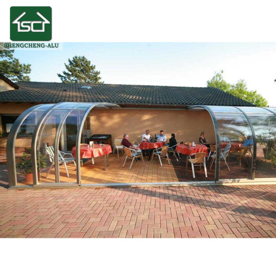 Best Shengcheng Aluminum Cabins Garden Outdoor Rooms With Season Sunrooms  With Alu Sthle Garten