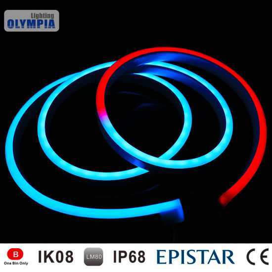 China dmx tube color changing led neon rope light china color dmx tube color changing led neon rope light aloadofball