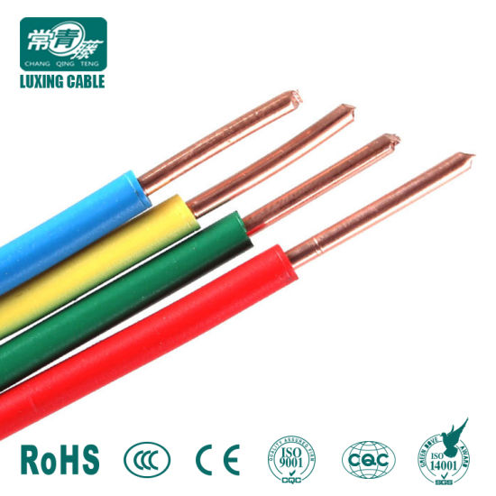 China BVV Type Copper Conductor PVC Insulated Wire PVC Sheathed ...