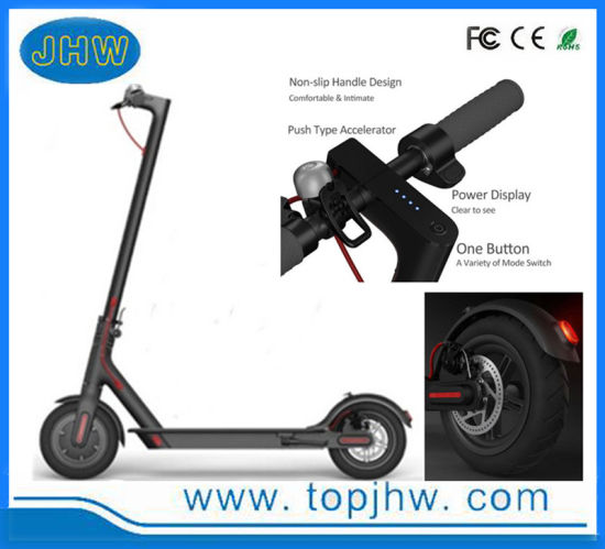 2 Wheels 350W Motor 7.8ah M365 APP Portable Folding Electric Mobility Scooter