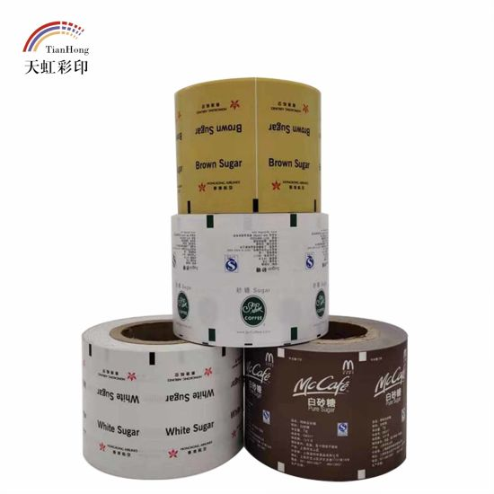 Customized Printing PE Coated Paper Roll Packaging
