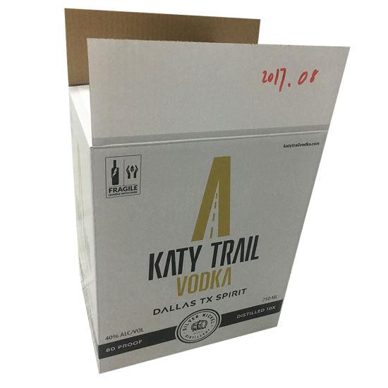 Custom Luxury High Quality Corrugated Wine Box Wholesale