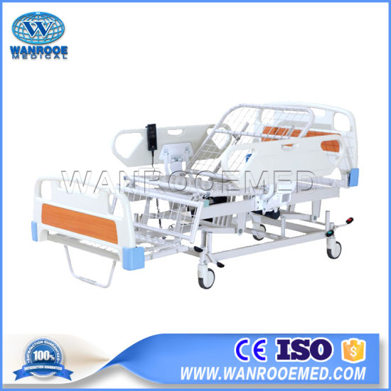 Bae312 High Quality Medical Adjustable 2 Crank Hospital Bed Prices