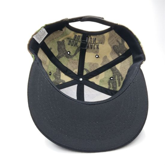 China Custom Design Camo Snapback Cap Summer for Men Women Hat ... 69609a0f026
