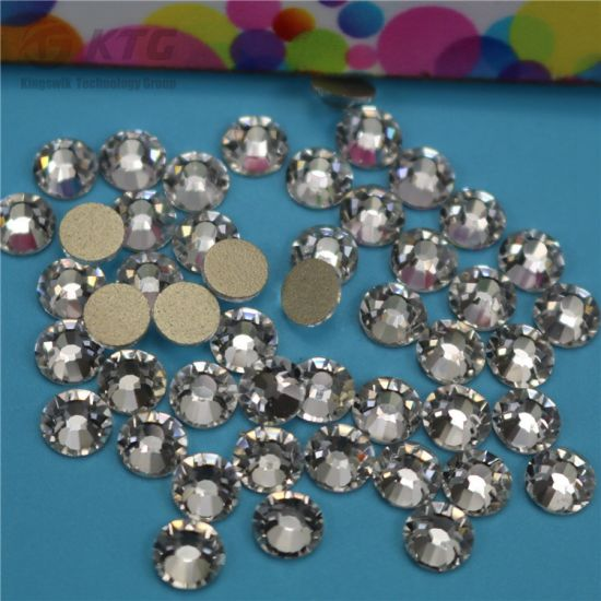 e4df284bb6 China Flatback Crystals Ss20 Glass Non Hotfix Rhinestones for Dress ...