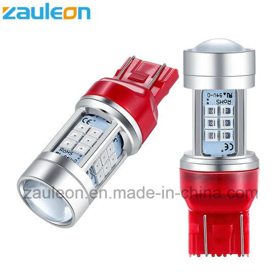 Car Exterior LED Light T20 7440 7443 Red Bulb for Rear Brake Tail Light