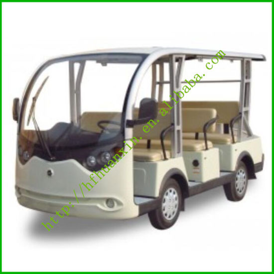 White 8 Seaters Electric Sightseeing Car (LT-A8)