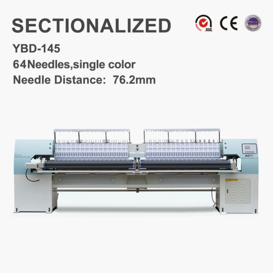 Ybd145 High-Speed Computerized Quilting Embroidery Machine