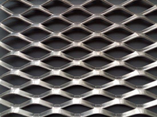 China Diamond Hole Expanded Sheet Metal Wire Mesh China