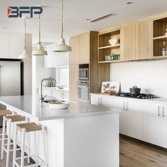Australia Modern Style Melamine Laminate Kitchen Cabinet Bmk 70