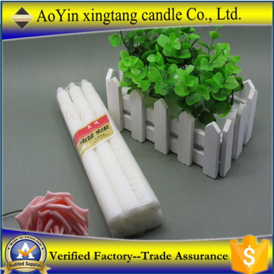 China Factory 14G White Church Religious Lighting Candle Supplier