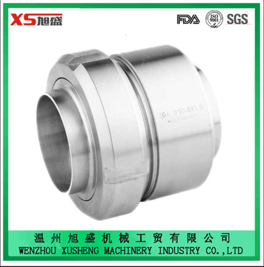 Stainless Steel Ss304 Sanitary Spring Union Type Check Valve pictures & photos