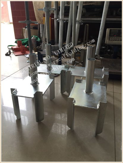Adjustable Shoring Forkhead Used in Prop System pictures & photos