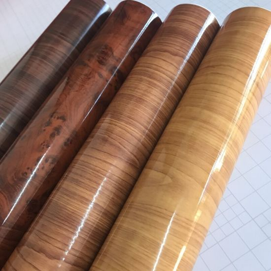 China Car Matt Self Adhesive Wood Grain