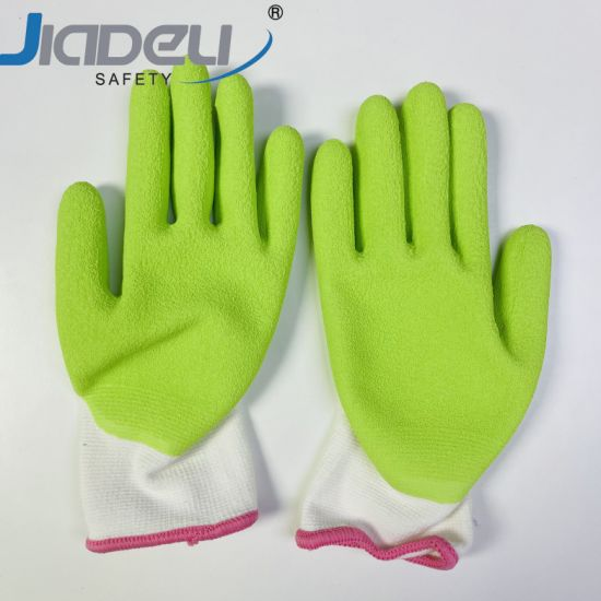 Labor Work Safety Bamboo Fiber Biodegradable Anti-Bacterial Anti-Fungal Quality Gardening Gloves