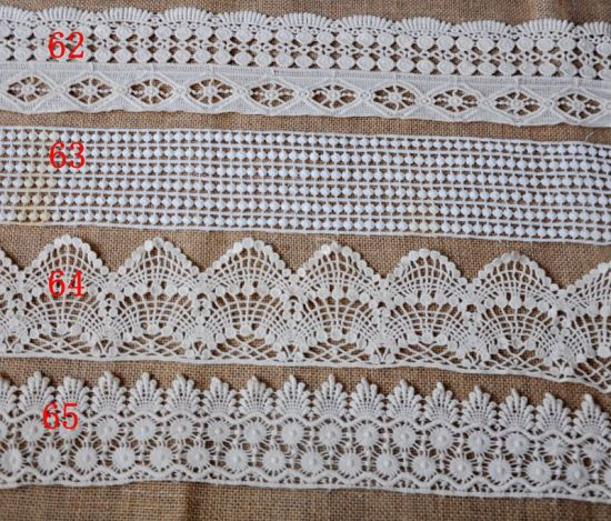 Fashion Cotton Embroidery Flower Lace for Garment Accessories