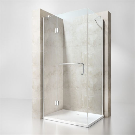 America Standard Tempered Glass Shower Enclosure for One People
