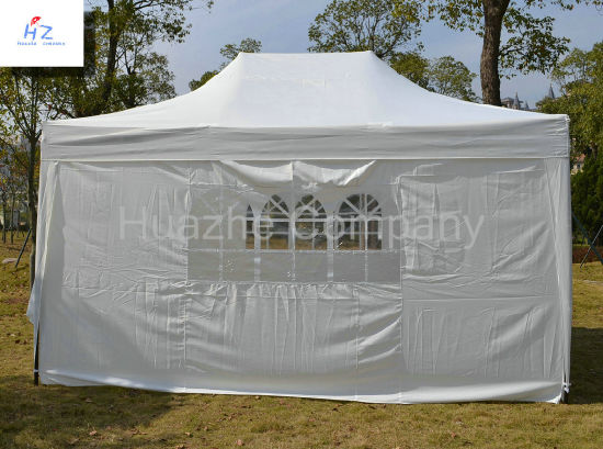 10ft X 15ft (3X4.5m) All Cross Folding Gazebo Folding Canopy Pop up Tent Easy up Gazebo pictures & photos