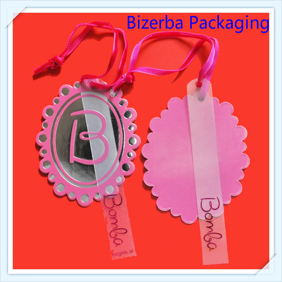 Special Paper Hard Card Tag with PVC