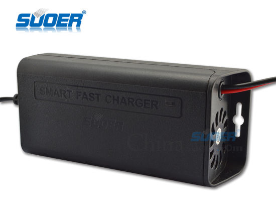 Solar Battery Charger 7A Fast Battery Charger 12V with Three-Phase Mode (SON-1207) pictures & photos