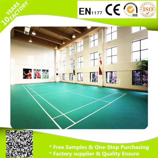 Popular PVC Vinyl Flooring Roll with Dirty Removal Surface pictures & photos