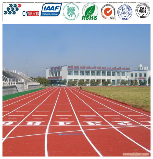 Environmental Health PU Synthetic Rubber Running Track