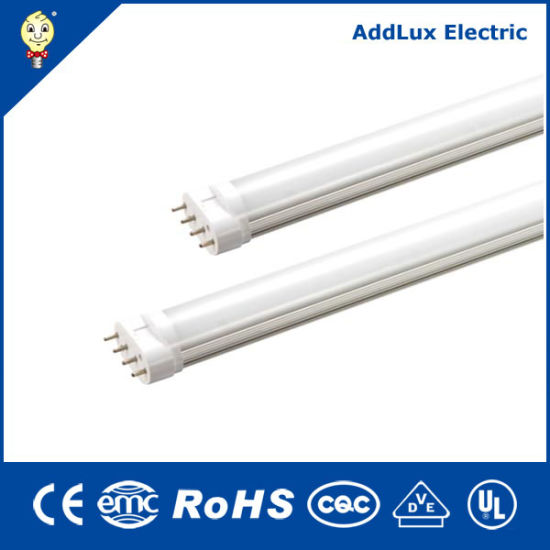 Ce UL Saso 4pins 10W 15W SMD 2g11 LED Tube Made in China for Home & Business Indoor Lighting From Best distributor Factory