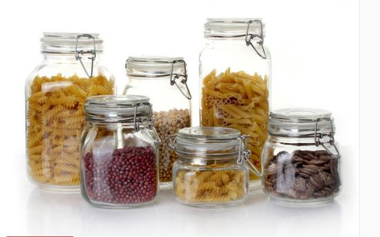 China Empty Glass Container/ Food Packaging/ Glass Bottle - China Glass  Bottle and Glass Storage Jar price