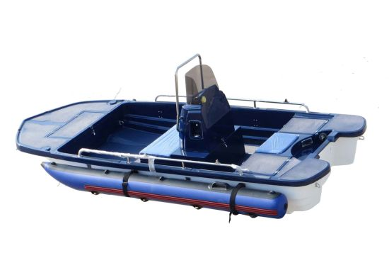 Aqualand 13feet 4m Bass Boat/River Boat/Fiberglass Fishing Boat (130) pictures & photos